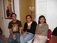 Juan, Érika y Gabriela