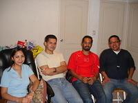 Yazmín, Rafa, Erick y Óscar