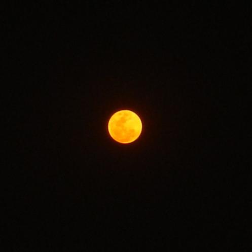 Luna sobre CU