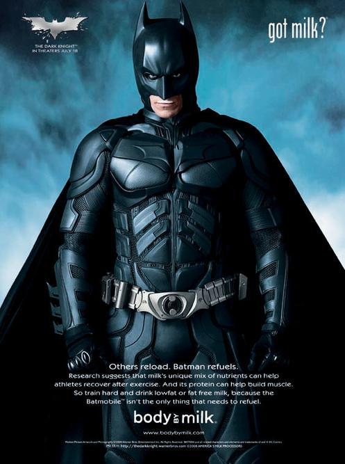 The Dark Knight Got Milk