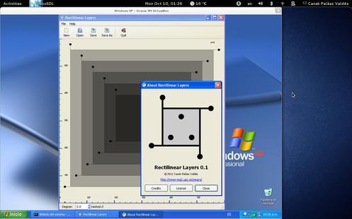 RLayers en Windows XP, versión bonita