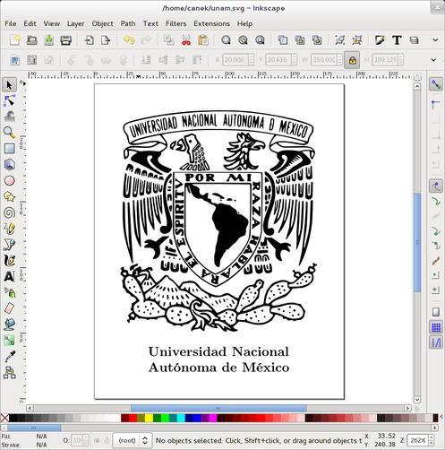 Documento en Inkscape